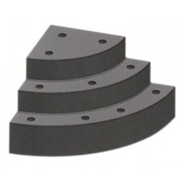 Escalier sous liner 1/4 de rond, 3 ou 4 marches