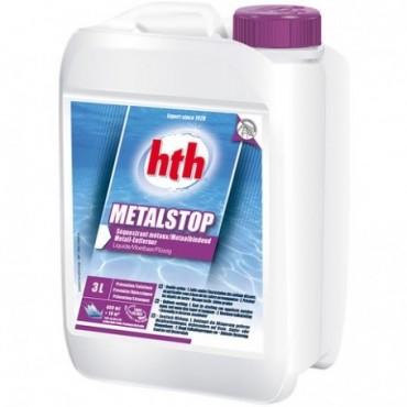 Séquestrant métaux piscine HTH MetalStop liquide 3 litres