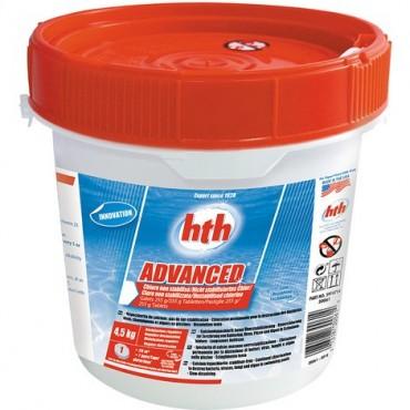 Hypochlorite HTH Advanced en galets de 255 g. - 4,5 kg
