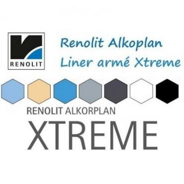 Liner PVC armé uni Alkorplan Xtreme