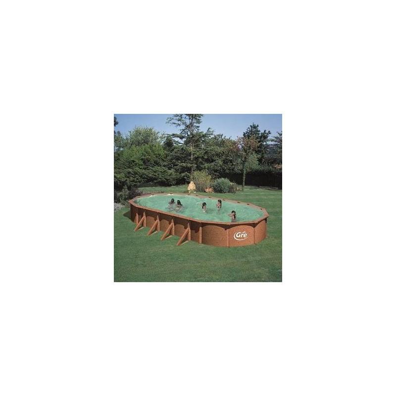 Kit piscine hors sol ovale mauritius livraison gratuite for Kit piscine