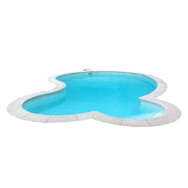Kit piscine coque polyester
